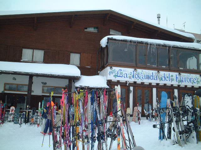 スキー場でイタメシ