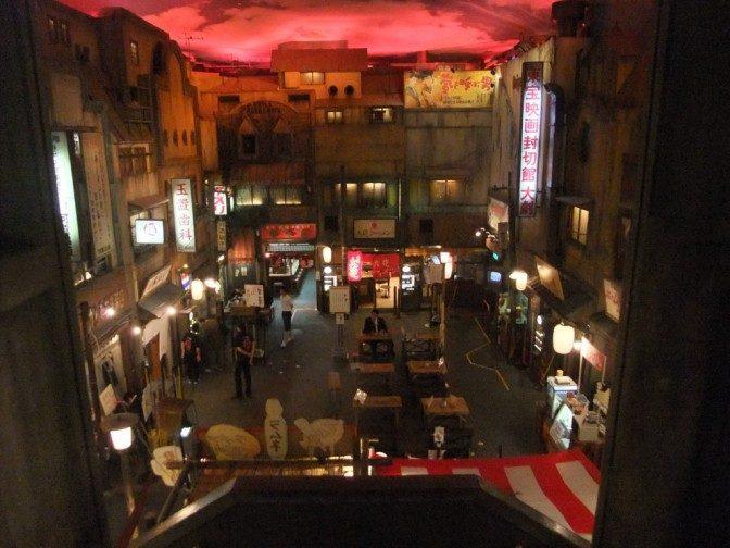 昭和30年代の街並み