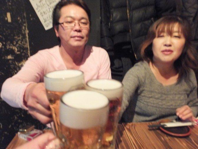 ビールはハッピーアワーで299円