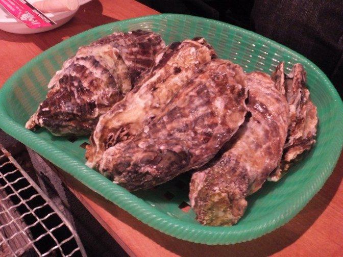 牡蠣8個1,200円