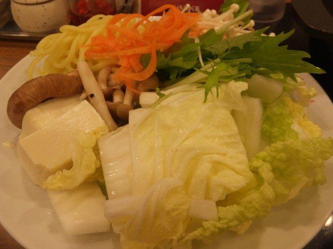 鍋に入れるお野菜