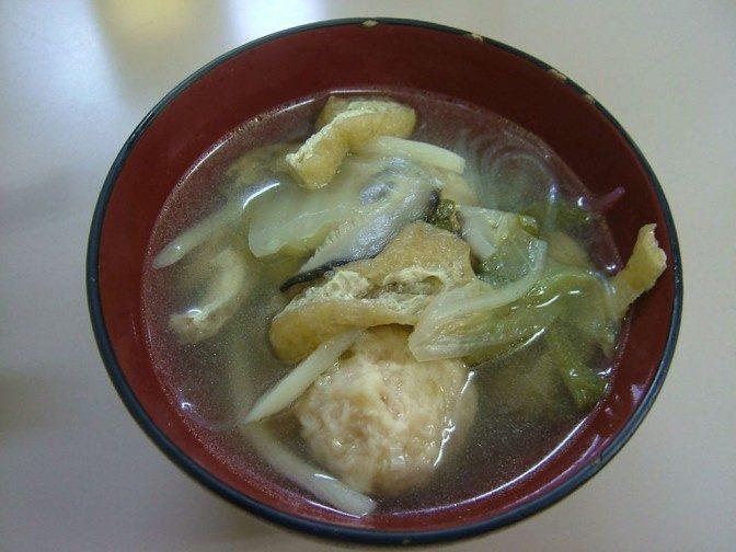 2品目:肉団子スープ