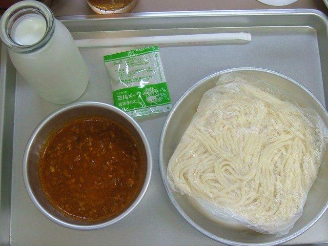 5品目(その2):ソフト麺とミートソース
