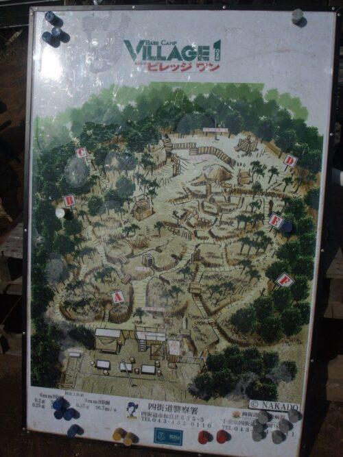 ビレッジ1地図