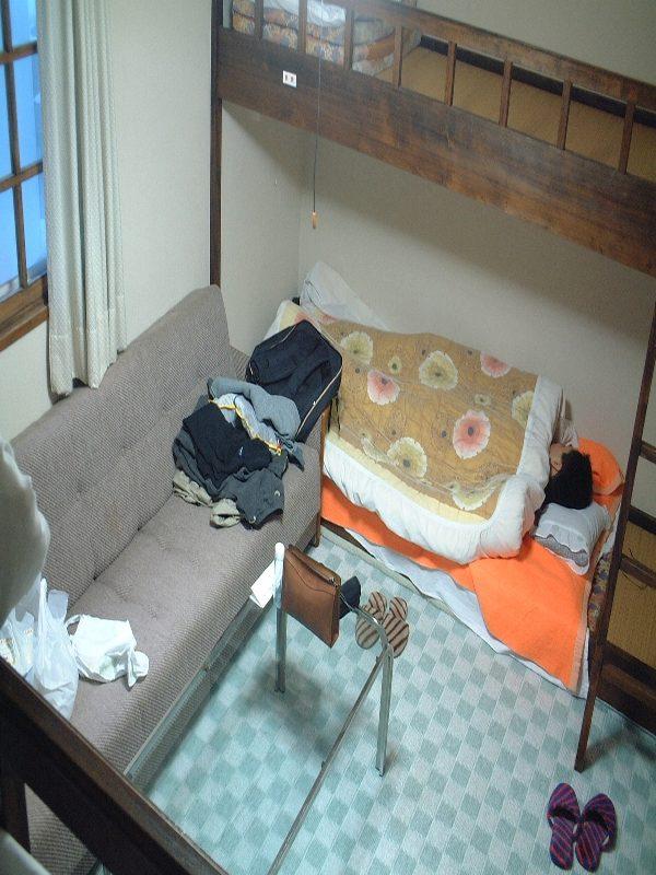 二段ベッドの部屋