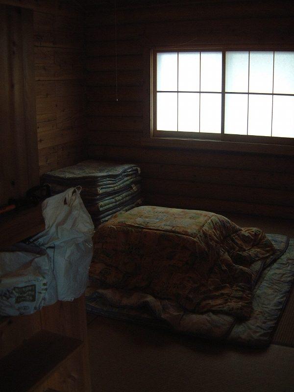 雲取山荘の個室