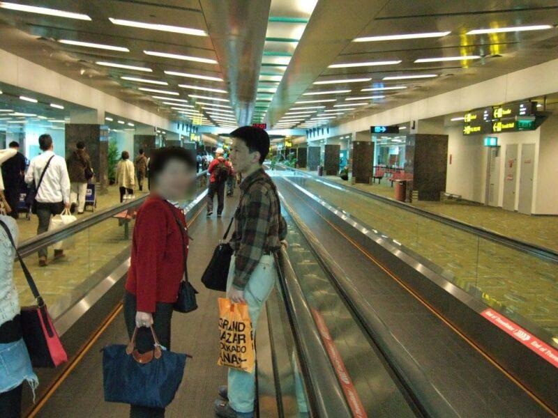 チャンギ国際空港の中