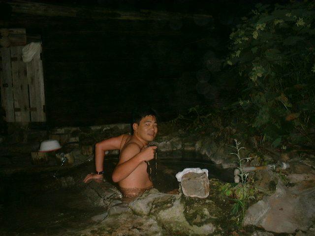 木下小屋の露天風呂