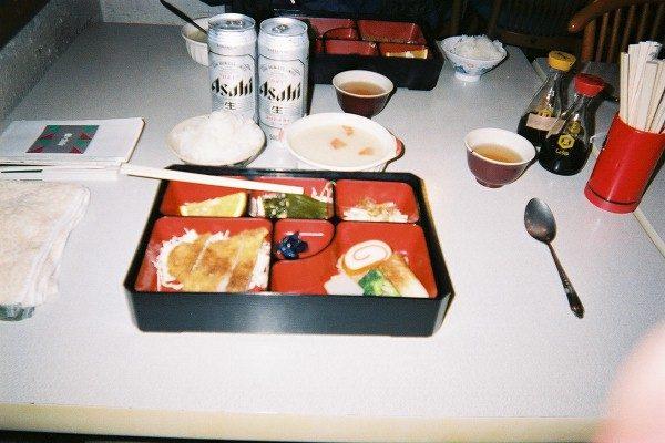 雷鳥沢ヒュッテの夕ご飯