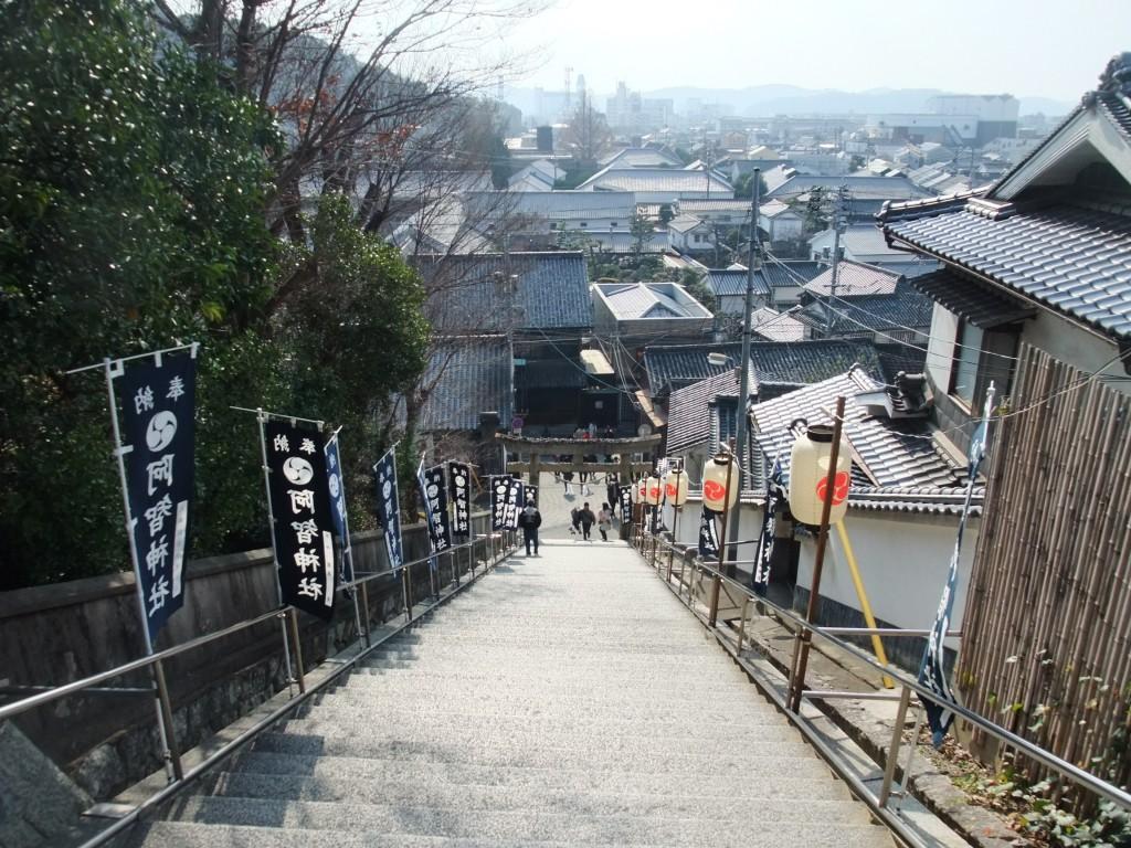 倉敷の光景