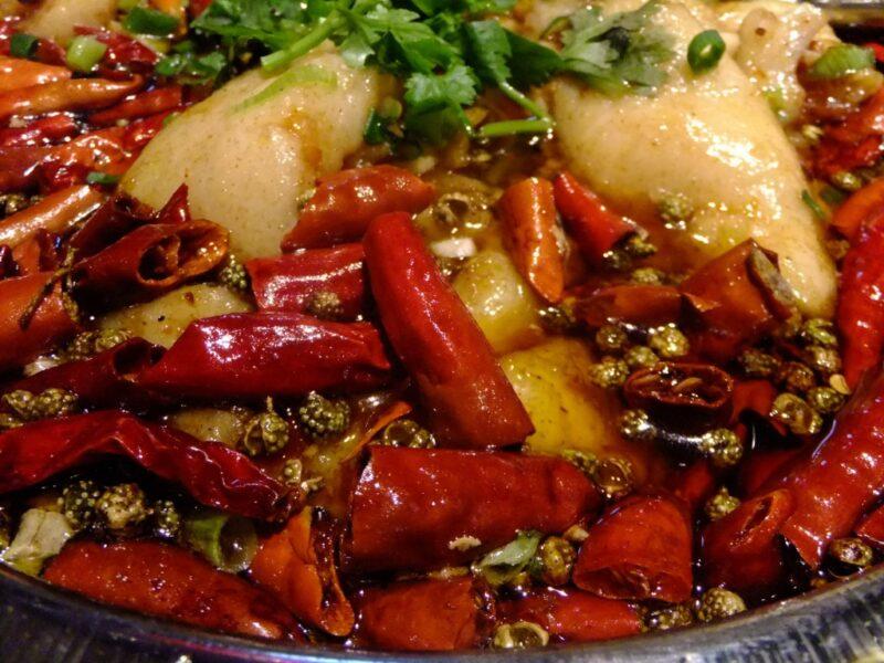 魚の激辛沸騰旨煮アップ