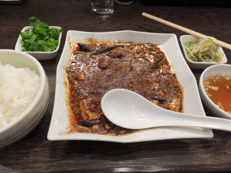 麻婆豆腐ご飯セット