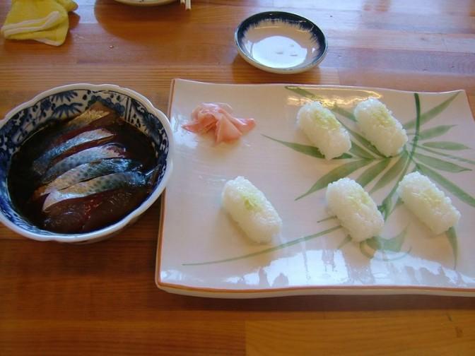サバ漬け寿司