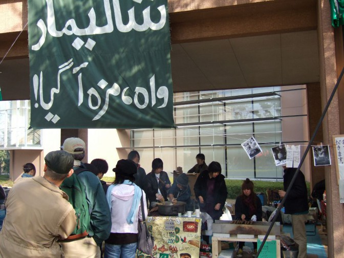 アラビア語学科の屋台