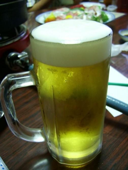 生ビールがますゐで飲めるようになるとは