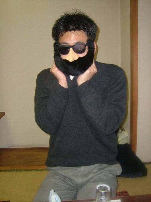 ますゐにワクワクする黒ひげ
