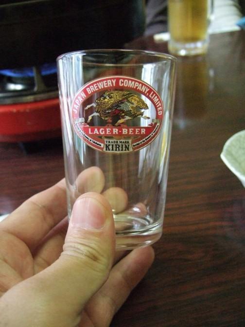ラガーのグラス