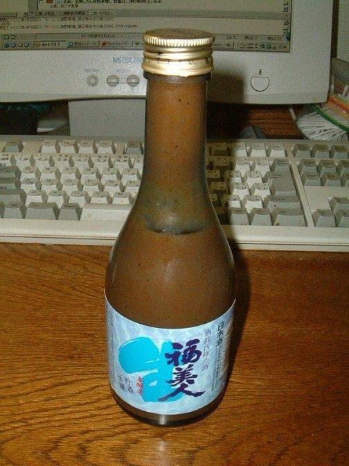 ますゐソース(容器は清酒の空き瓶再利用エコ)