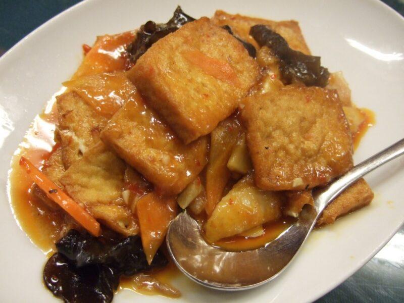 家常豆腐(辛口)