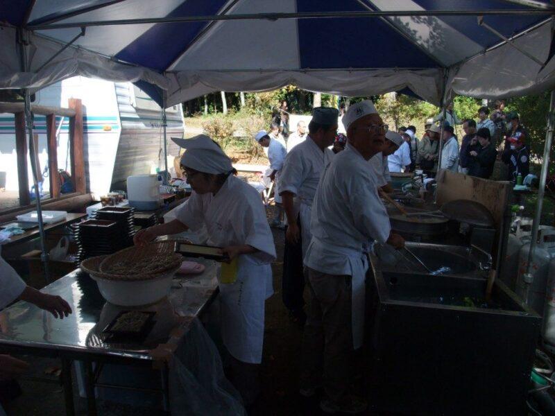 江戸流手打ち蕎麦 鵜の会厨房