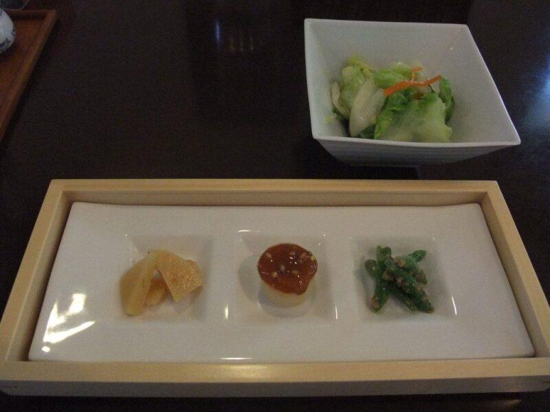 季節の旬菜(三種盛合わせ)