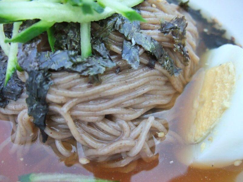 冷麺アップ
