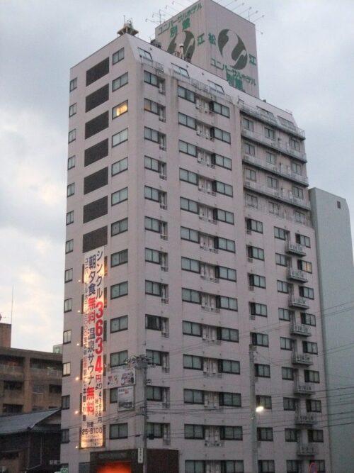 松江駅前のホテル2