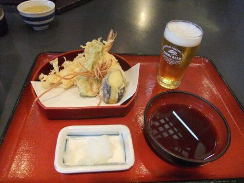 天ぷら盛りあわせ350円