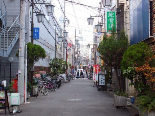 浅草の裏路地