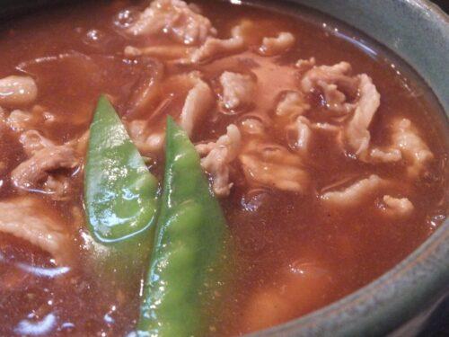 辛口カレー南ばん(豚肉)アップ