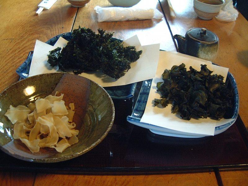 「岩のり」「めかぶチップ」「干豆腐」