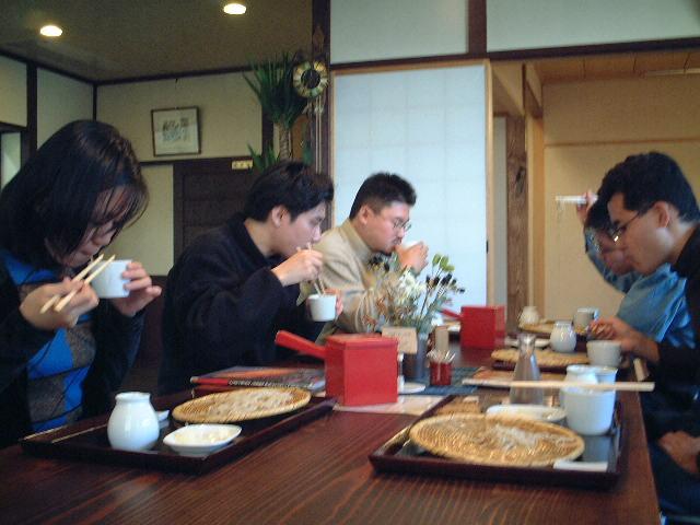 浅田で蕎麦