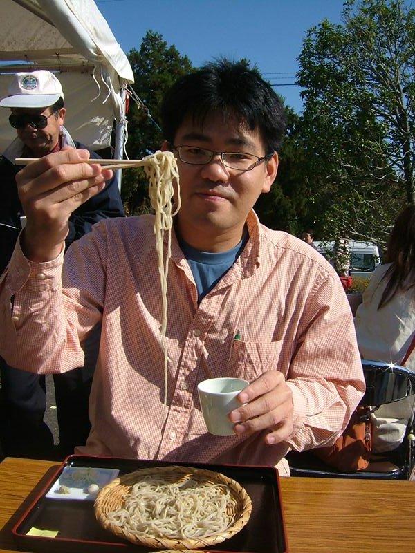 まさか茨城県で達磨の蕎麦が食べられるとは