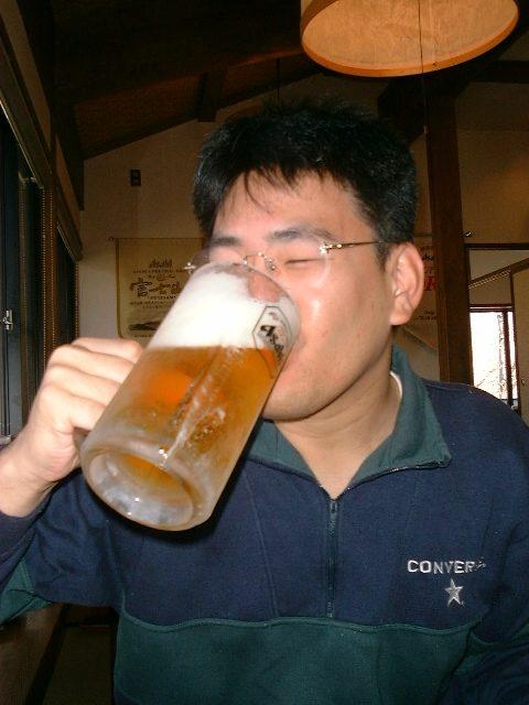 あらかじめビール飲んでブースト
