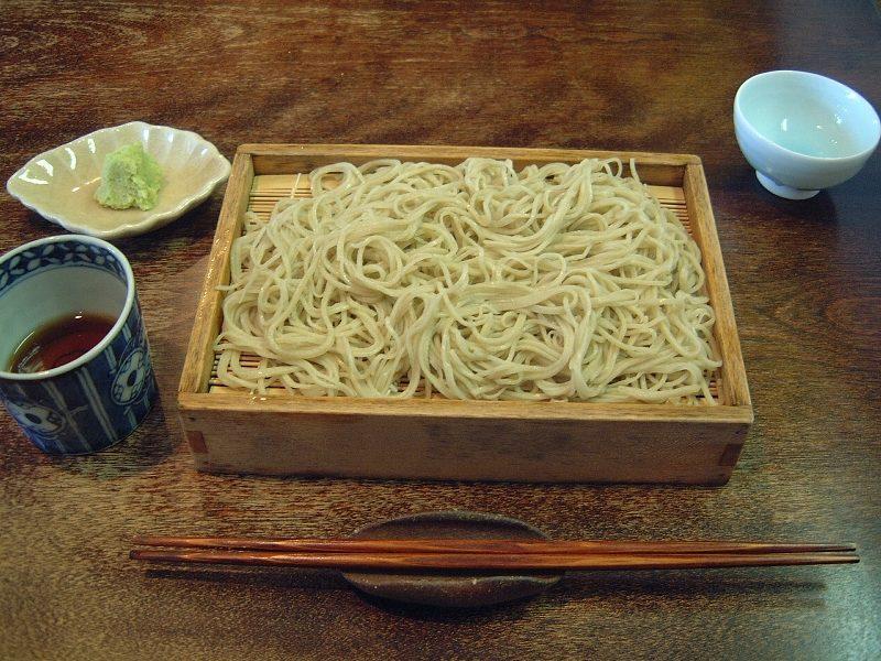 美しきふじおかの蕎麦