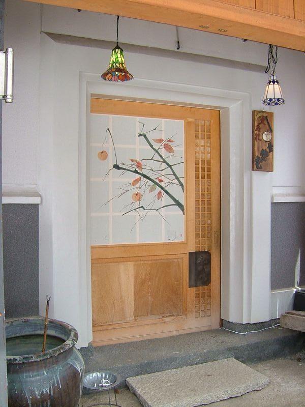 遊山の玄関
