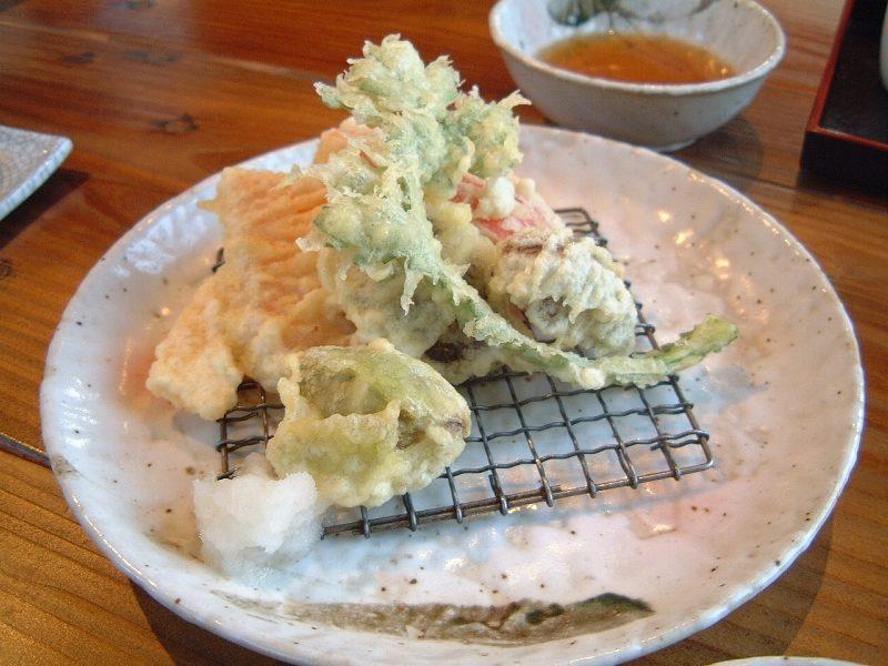 里の天ぷら
