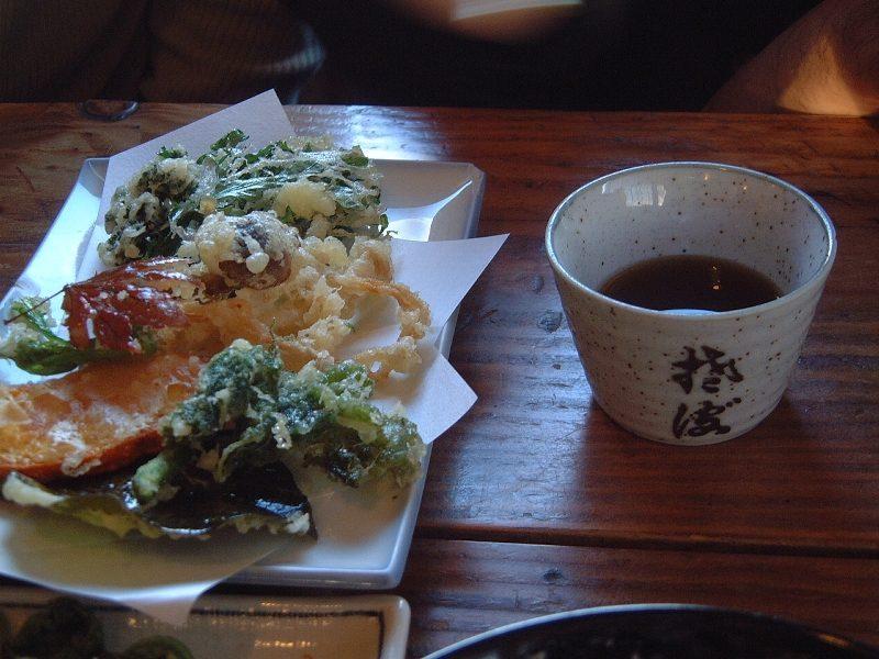 山野菜天ぷら