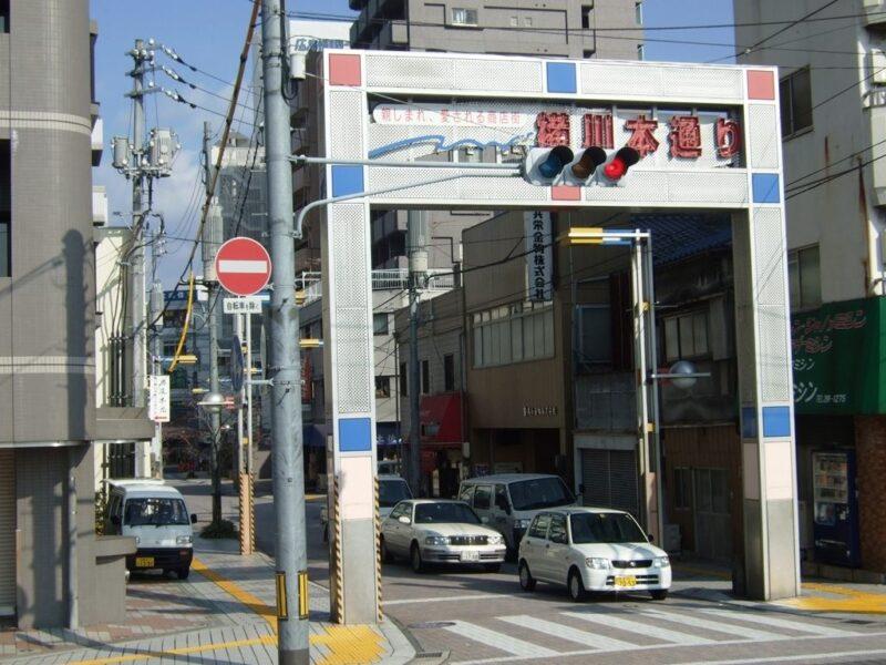 横川の商店街