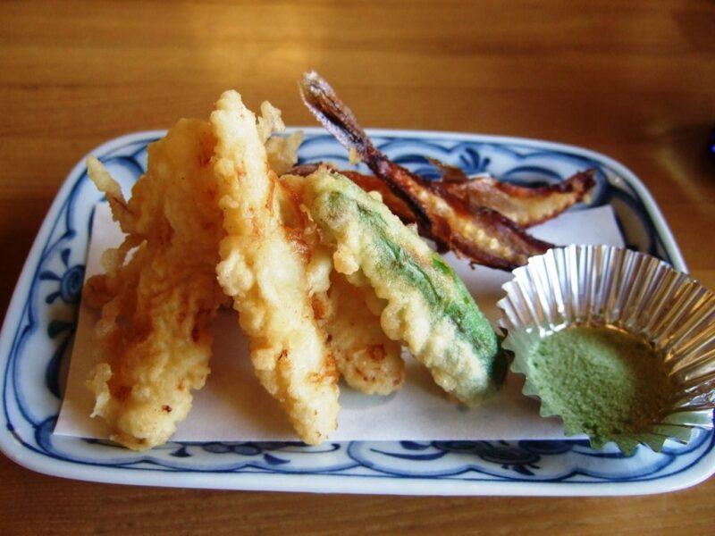 小ふぐの天ぷら