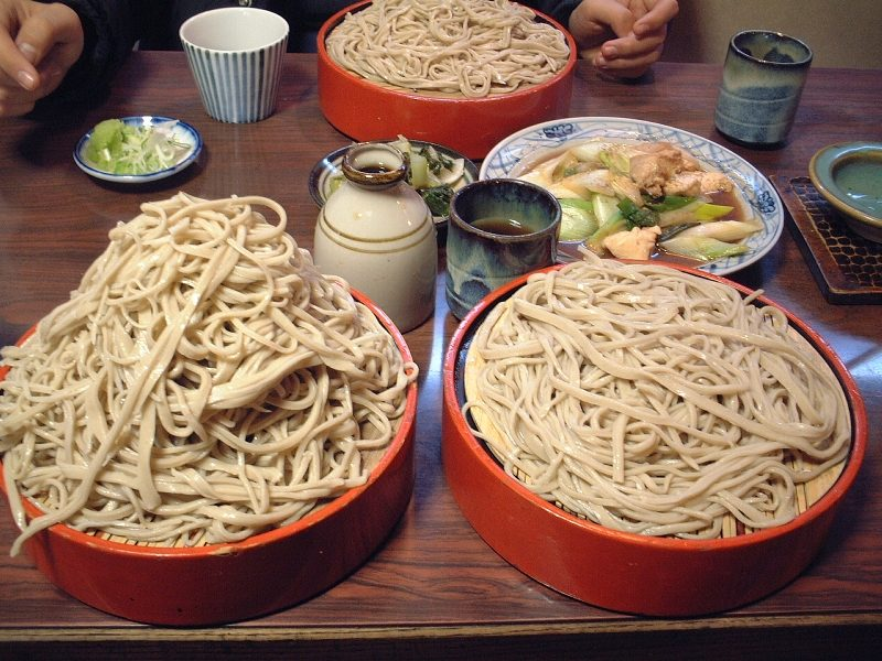 刀屋の蕎麦