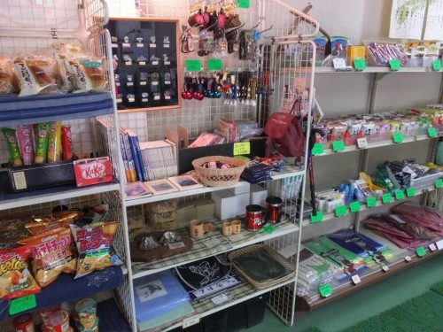 広河原山荘の売店