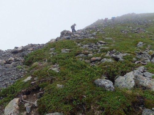登り道は当然山だからあるのです