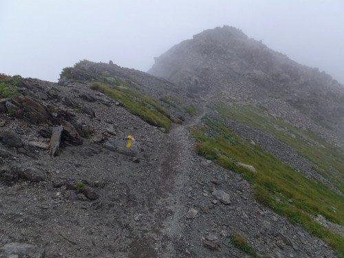 稜線歩き1