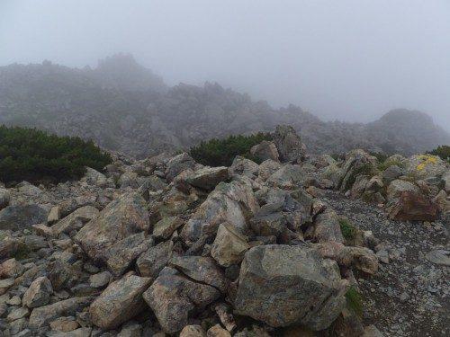 稜線歩き2