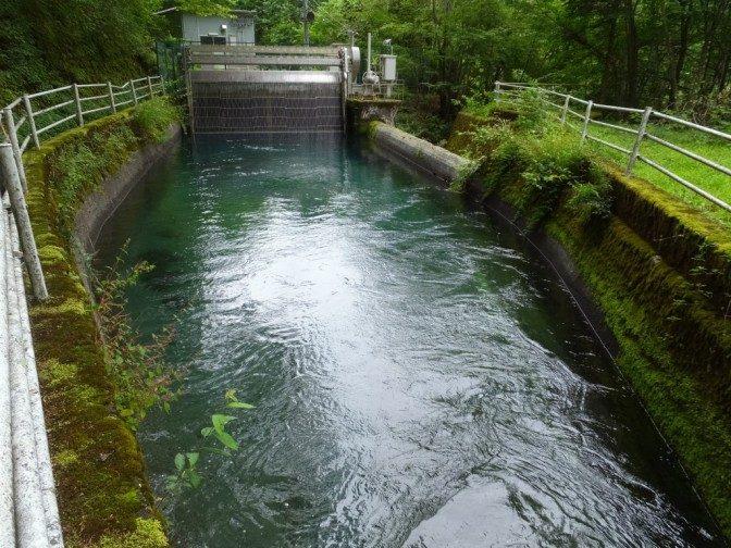 早川水系取水所