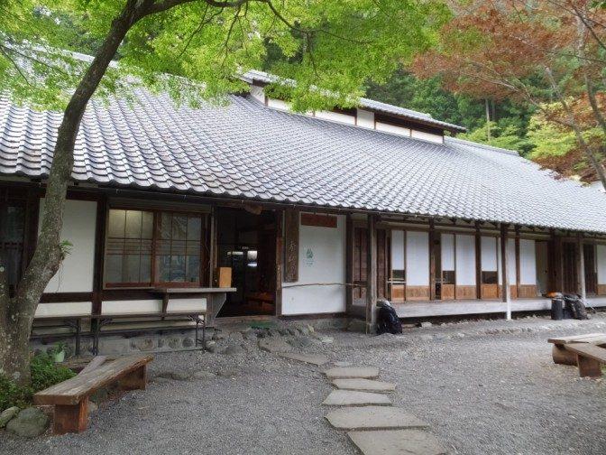 奈良田の里温泉外観