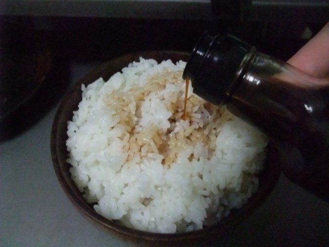 生醤油かけご飯