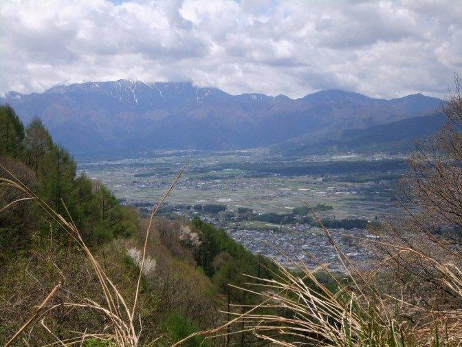 萱野高原からの眺め