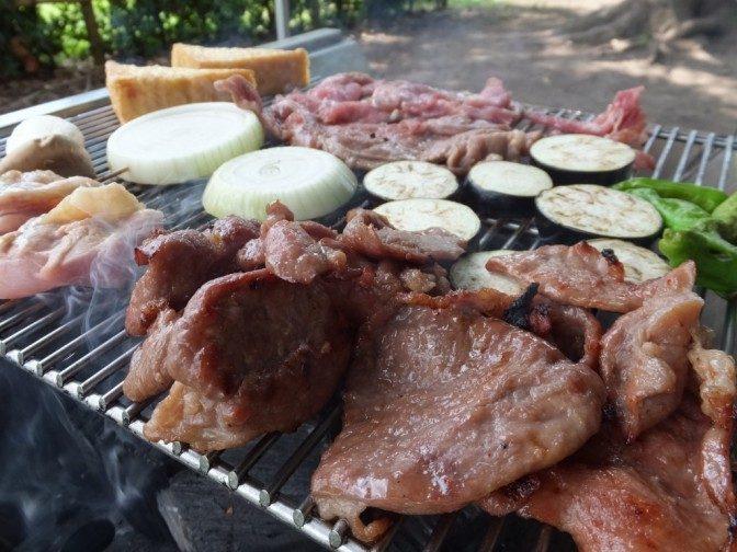舎人公園BBQ